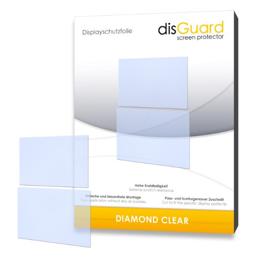 "2 x disGuard® Displayschutzfolie Nintendo DSi XL Schutzfolie Folie ""DiamondClear"" unsichtbar"