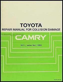 Toyota Camry, 1983-1986 shop manual by Toyota (1986-05-03) (Toyota Camry 05)