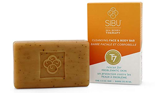 Sibu Cleanse & Detox Sea Buckthorn Facial Soap, 99 g [Blockseifen] -