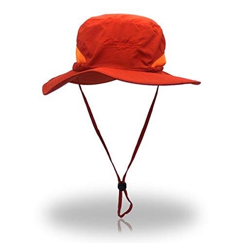 AJON Unisex Eimer Mütze Einstellbar Safari Hut UV-Schutz Dschungel Mütze Faltbare...