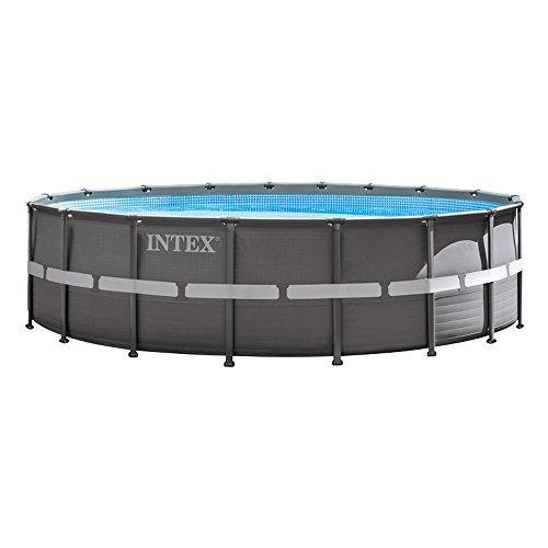 Intex  - Piscina desmontable Ultra Frame, 549 x 132 cm, 26.423 litros (26332)