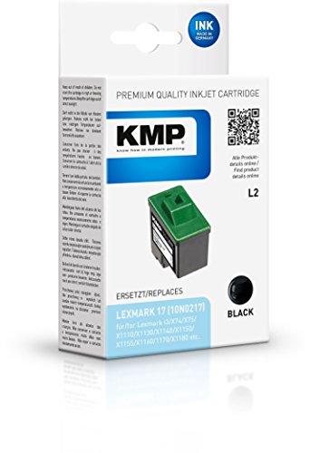 KMP Tintenkartusche für Lexmark i3/X74/X75, L2, black -