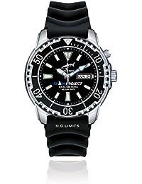 Chris Benz DEEP 1000M SHARKPROJECT EDITION CB-1000-SP-KBS Automatic Mens Watch Diving Watch