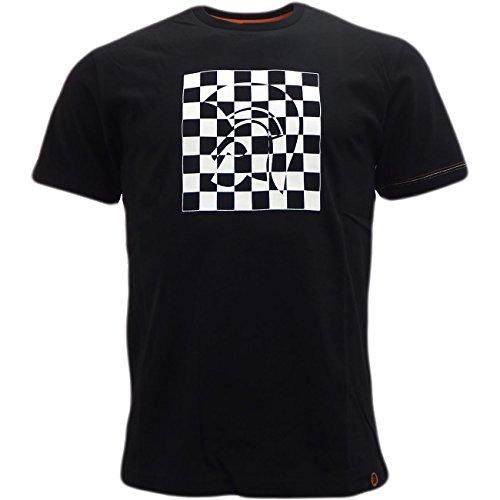 trojan-t-shirt-basic-maniche-corte-uomo-nero-x-large