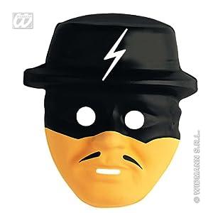 WIDMANN Máscara de héroe bandido infantil Cualquier día
