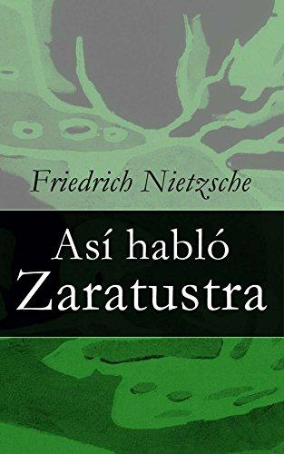 Así habló Zaratustra por Friedrich Nietzsche