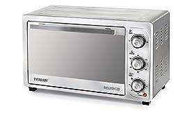 Eveready Relish 23 1380-Watt Oven Toaster Grill (Silver)