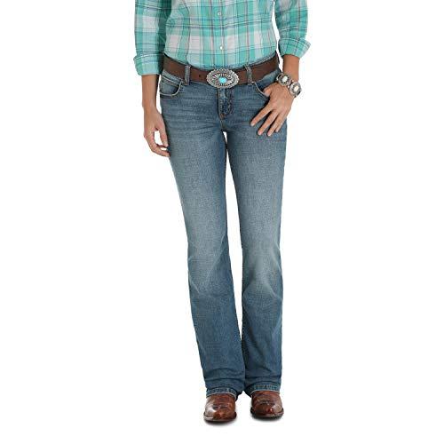 Wrangler Damen Retro Sadie Low Rise Stretch Boot Cut Jeans, Carson, 15W x 32L