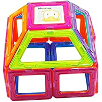 71Pcs Juguetes Educativos para Niños Juguetes Magnéticos Palos