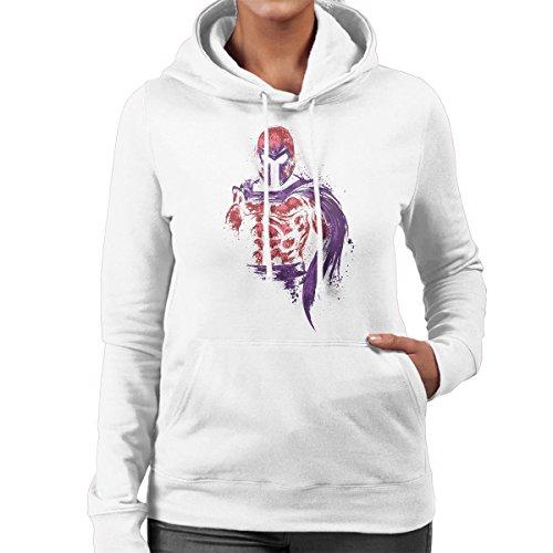 X Men Magnetic Warrior Magneto Women's Hooded Sweatshirt