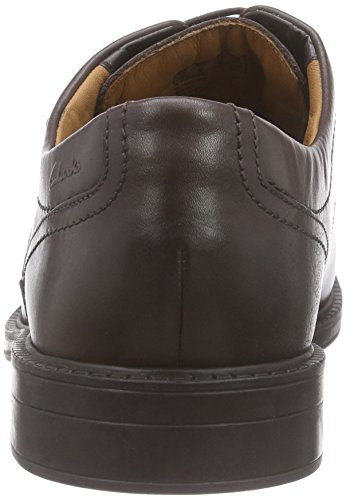 Clarks Chilver Walk Gtx, Chaussures de ville homme Marron (Dark Brown Lea)
