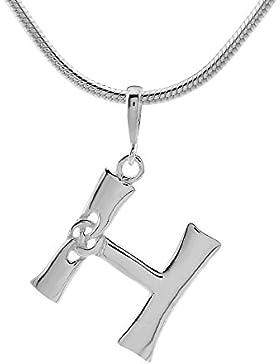 SILVEGO Keltischer Anhänger Buchstabe H Sterling Silber 925