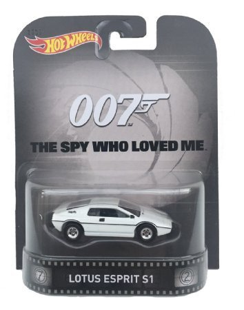 Lotus Esprit S1 James Bond 007 Spy Who Loved Me Hot Wheels 2015 Retro Series 1/64 Die Cast Vehicle by Hot Wheels