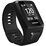 TomTom Spark 3 Cardio GPS Multisport Fitness Watch (Black, Large)