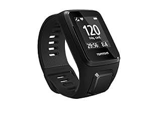 TomTom Spark 3 Cardio Orologio GPS per il Fitness, Cardiofrequenzimetro Integrato, Activity Tracker 24/7, Cinturino Large, Nero