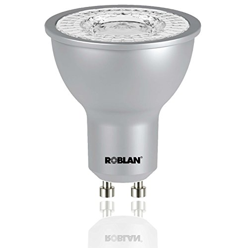 roblan proskyc100 Ampoule GU10, 7 W, aluminium