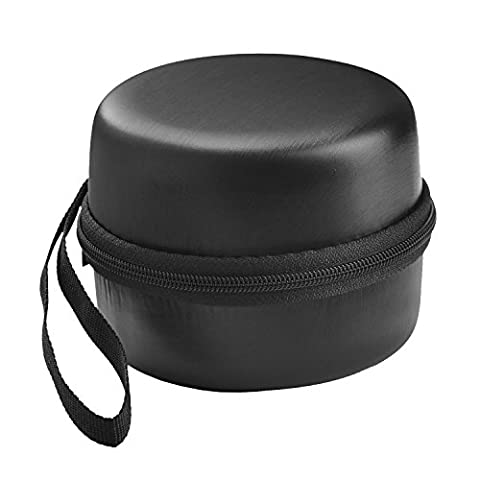 LuckyNV Hard EVA Case Shockproof Storage Protective Pouch For Amazon Echo Dot 2nd Bluetooth Speaker Black