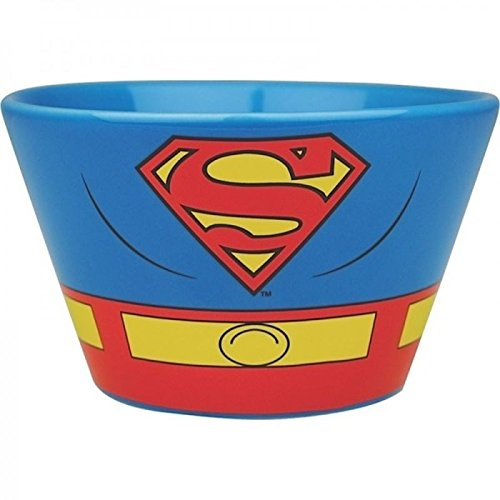 Superman Kostüm Müslischale - Schüssel Müslischüssel Superheld (Kostüme Cool Superman)