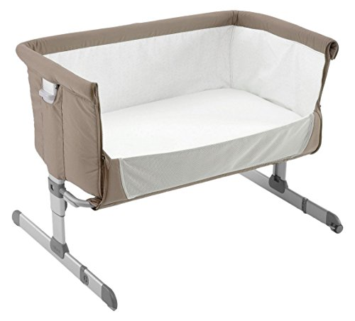 Chicco 07079339720000 Next2Me Co-Sleeping Culla, Beige (Dove Grey)