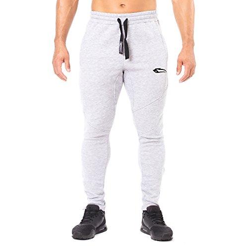 SMILODOX Slim Fit Herren Jogginghose 'Dynamic 2.0' | Trainingshose für Sport  Fitness Gym &