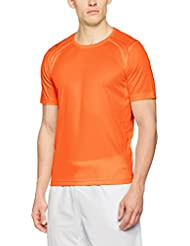 Jako - T-Shirt RUN Orange Taille - XS