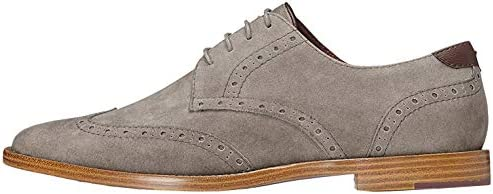 Amazon-Marke: find. Derby Schuhe Herren Brogue-Design und raues Kunstleder