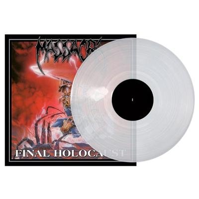 MASSACRA, Final holocaust CLEAR VINYL - LP