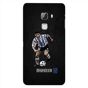 Bhishoom Designer Printed Back Case Cover for LeTv Le Max :: LeEco Le Max (Diego Maradona :: Football :: Argentina :: Napoli :: Jersey)