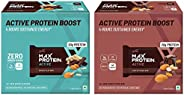 RiteBite Max Protein Active Choco Fudge Bars 450g - Pack of 6 (75g x 6) & Active Choco Slim Bars 402g - Pa