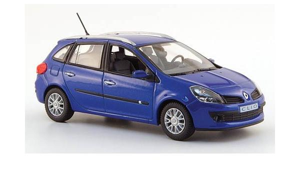 Renault Clio Kombi Met Blau 2007 Modellauto Fertigmodell Norev 1 43 Spielzeug