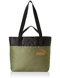 Puma 15 Ltrs Olive Night-Black-Velvet Rope Shoulder Bag (7473805)