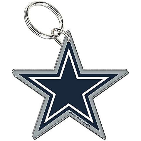 NFL Dallas Cowboys Old Glory-Portachiavi in acrilico,