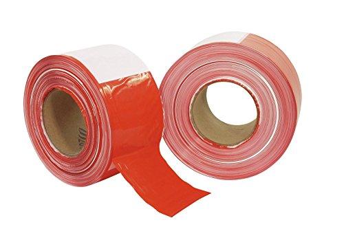 PP Absperrband rot/weiß 500mx75mm