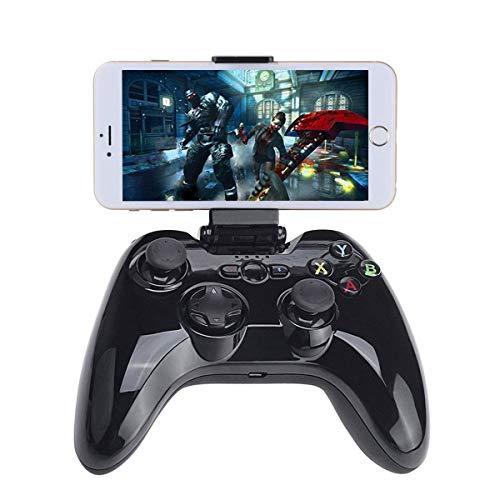 HWZDQLK Controller Gamepad Bluetooth, Joystick di Gioco Wireless MFi iOS con Supporto Morsetto Compatibile con Apple iPhone XS, XR X, 8 Plus, 8, 7 Plus, 7 6S 6 5S 5, iPad, iPad PRO Air Mini, Apple TV