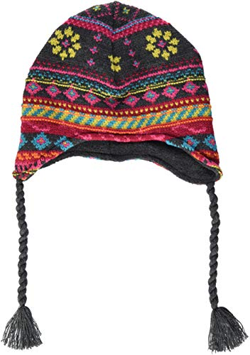 maximo Mädchen 83573-859200, Inka, Bänder Mütze, Mehrfarbig...