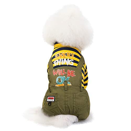 Zebra Kostüm Hunde - Haustierkleidung Katze Hund Warme Overall Heimtierbedarf Kleidung, Hawkimin Winterbekleidungs Welpen Kostüm Fashion Puppy Haustier Kleidung Vierbeiniger Kleiner Bär Pullover Print Bekleidung