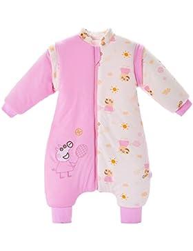 Babyschlafsack mit Füßen Winter verdickt Baby Anti Kick Sleep Sack 3,5 Tog