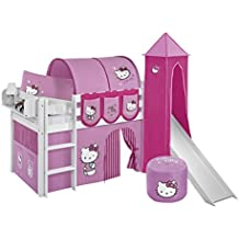 lilo kids jeu parure de lit jelle 90 x 190 cm hello kitty rose lit