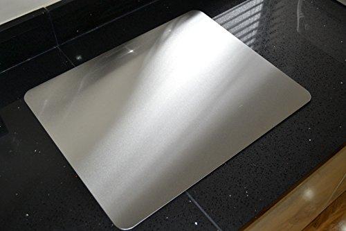 Protector de encimera/Tabla de Cortar de Acero Inoxidable, Varios tamaños Disponibles, Metal,...