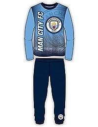 Boys Manchester City Long Length Pyjama 4 to 12 Years