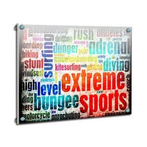 Tableau plexi Sports extrêmes design - Gravissimo