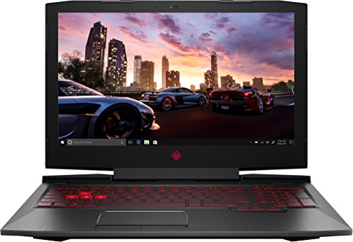 HP Omen 15-ce002ng 39,6 cm (15,6 Zoll Full HD IPS) Gaming Notebook (Intel Core i7-7700HQ, 16GB RAM, 1TB HDD, 256GB SSD, NVIDIA GeForce GTX 1060 6GB, Windows 10 Home 64) schwarz