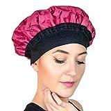 Cuffia Magic Gel per trattamento termico al vapore per i capelli, riscaldabile in microonde