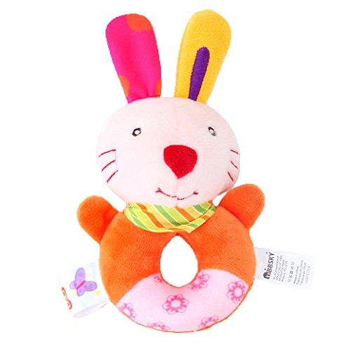 gaddrt Kinder Baby Tier Handbells Musical Developmental Spielzeug Bett Glocken Rassel Spielzeug Geschenk (C)