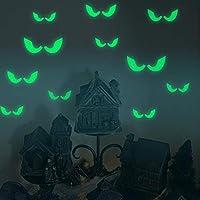 Xue Halloween-Aufkleber, Leuchtende Aufkleber, Voyeur-Auge, Hintergrund, Persönlichkeit, Tapeten, Wanddecal, Wandbild, Kunst Dekor, Selbstklebendes Papier, Schlafzimmer, Wohnzimmer