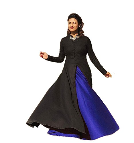 shree enterprise Suits for Women Indo-Western for Party Wedding Wear Floor Length Gown/ Anarkali Suit/ Salwar Suit  available at amazon for Rs.449