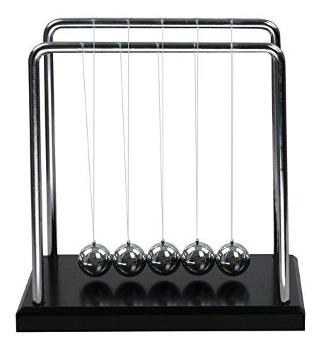 (HOMMY Classic Newton Cradle Balance Balls Wissenschaft Psychologie Puzzle Schreibtisch Spielzeug - Medium)