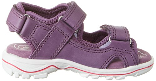 Ecco Ecco Urban Safari Kids, Sandales  Bout ouvert fille Violett (59345GRAPE/GRAPE)