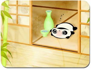 tappetino-per-mouse-motivo-panda-stanco-e-felice-con-sak
