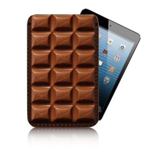 Bizebeeneo Biz-E-Bee Exclusive CHOCOLATE BAR PRINT 7HD APPLE iPAD MINI - Shock / Water Resistant Neoprene Tablet Case, Cover, Pouch